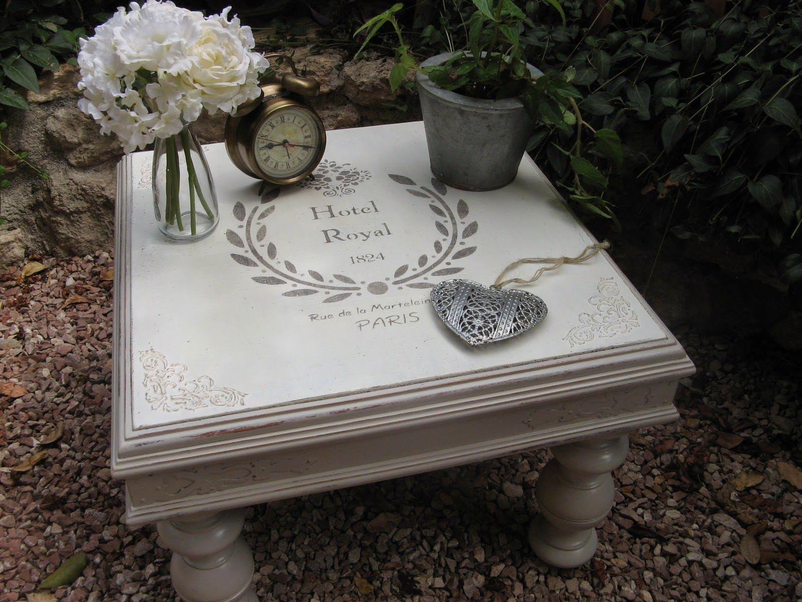 Mesa estilo vintage trabajos manualidades y bricolaje pinterest mesas estilo vintage y - Manualidades y bricolaje ...