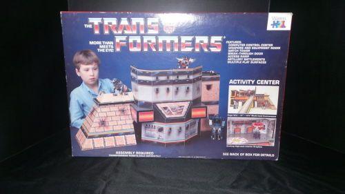 1985-RARE-Transformers-Activity-Center-by-Warren-Excellent-Unused