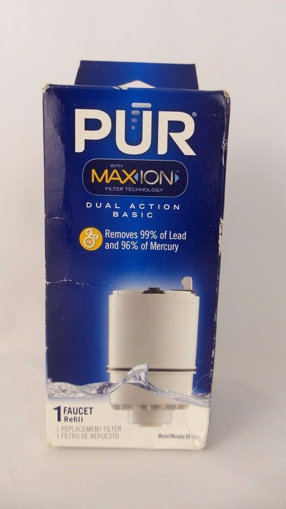 PUR Faucet Water Filter Refill Replacement MAX ION Dual Action RF ...
