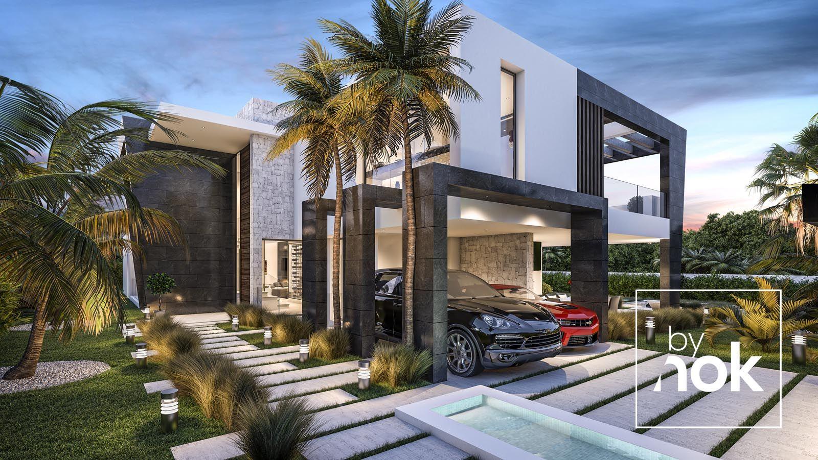 Architecture Construction Modern Villa In Aloha Marbella