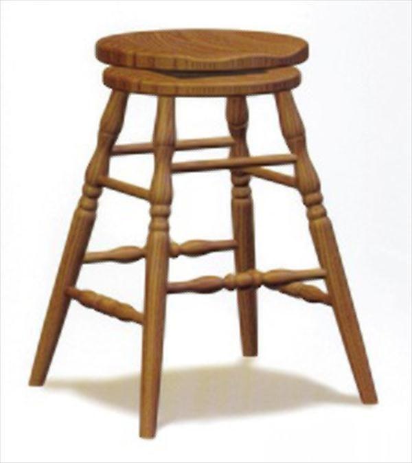 Amish Scoop Seat Swivel Bar Stool Furniture Oak Or Cherry Brown Maple Qs