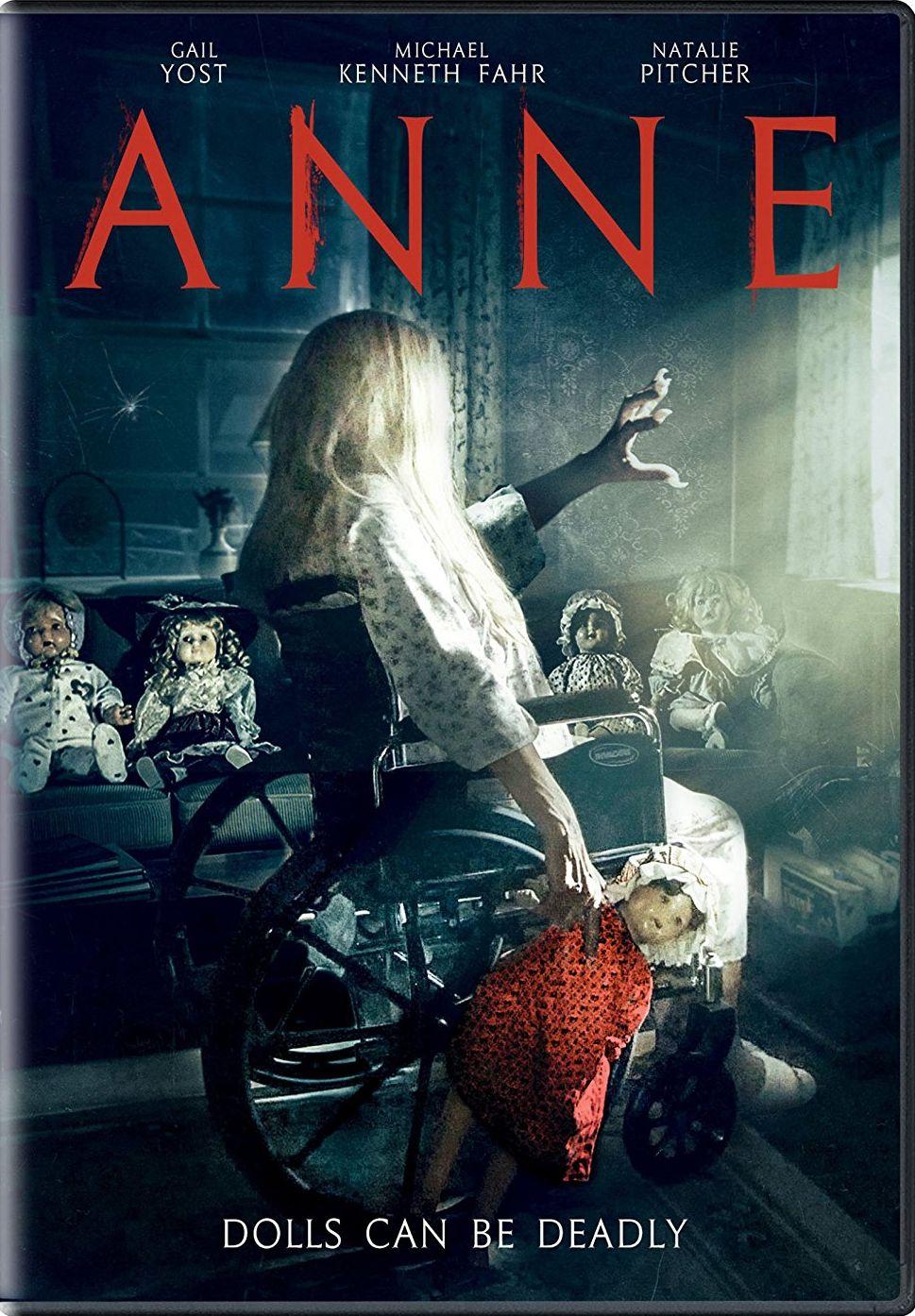 ANNE DVD (CINEDIGM) horror movies