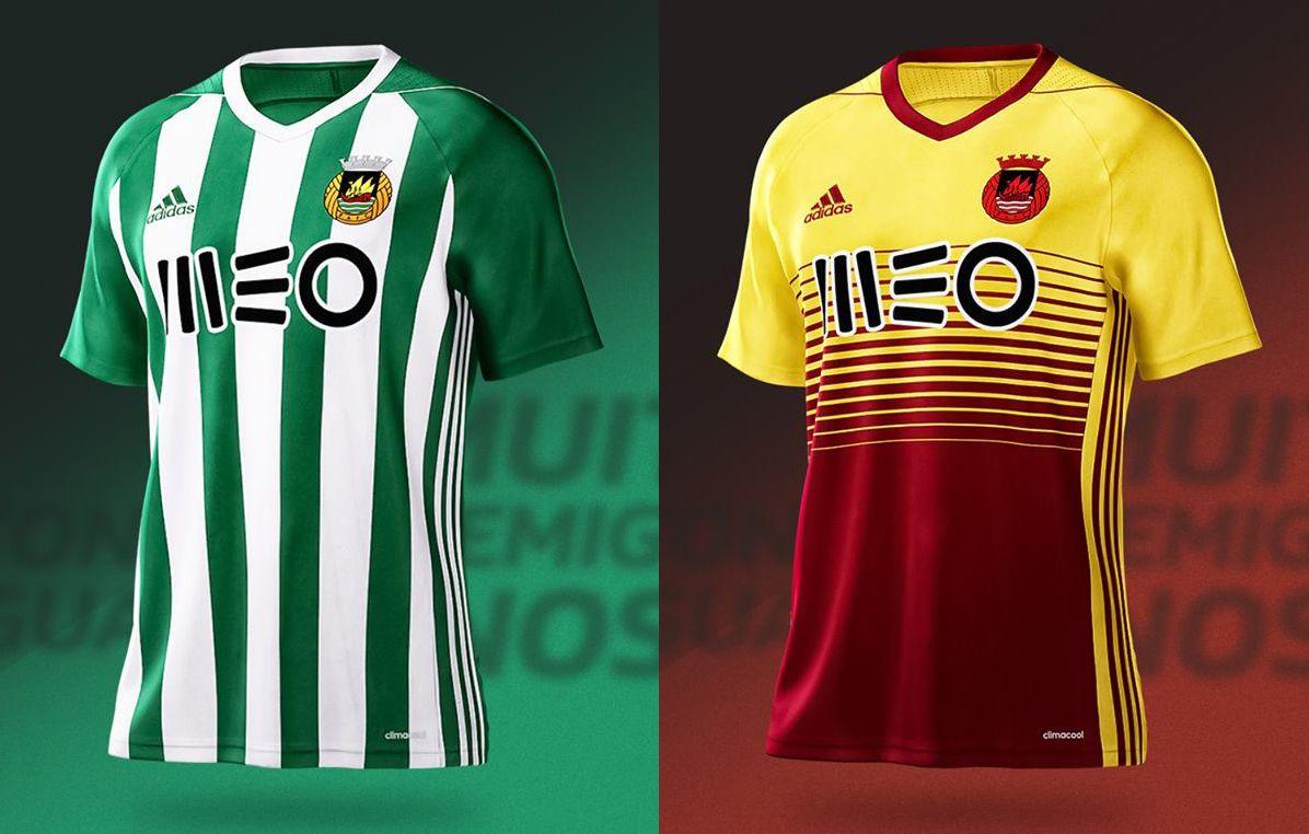 60716c617d2a8 Camisas do Rio Ave FC 2017-2018 Adidas