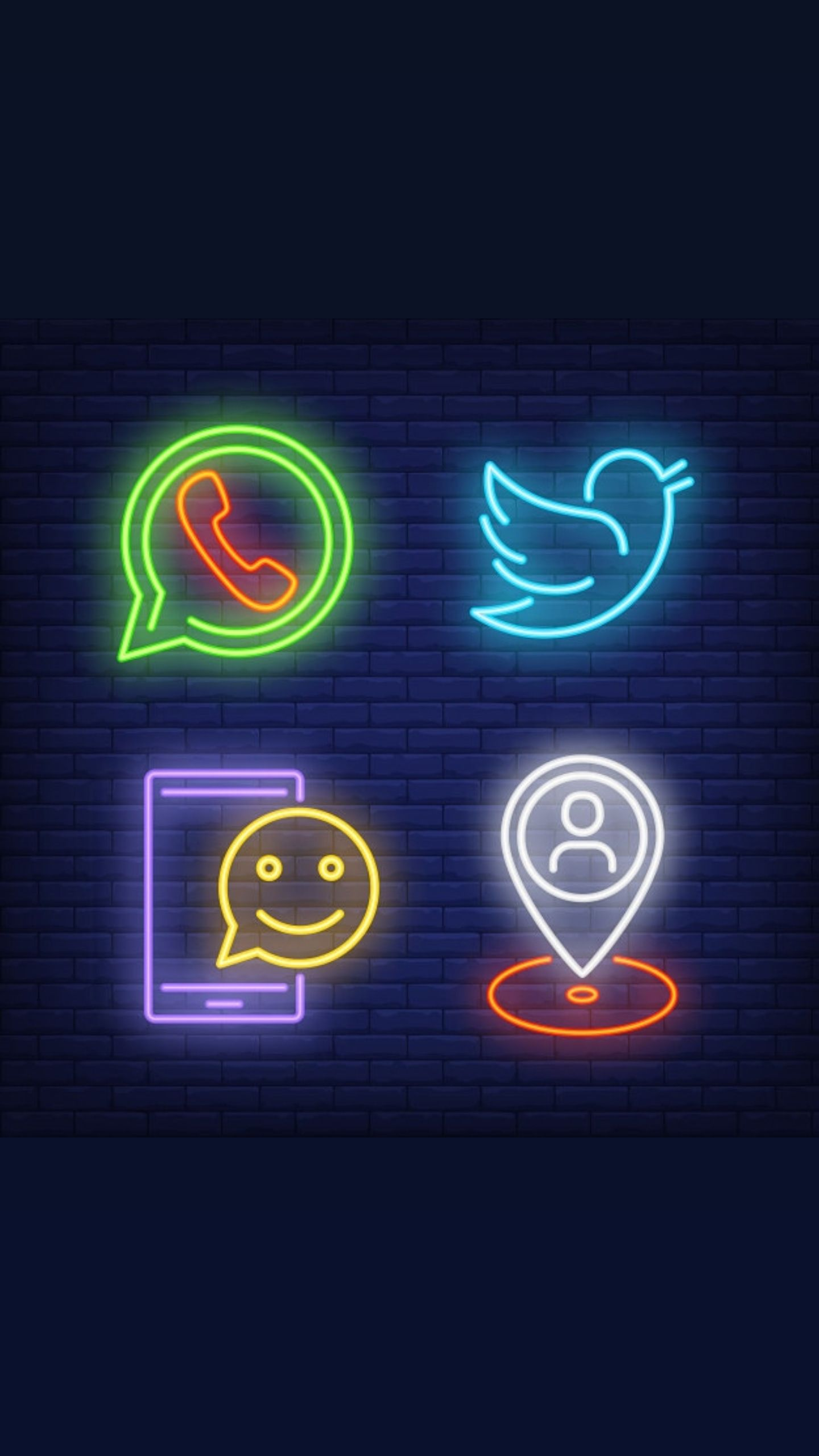 App Store Icon Aesthetic Neon