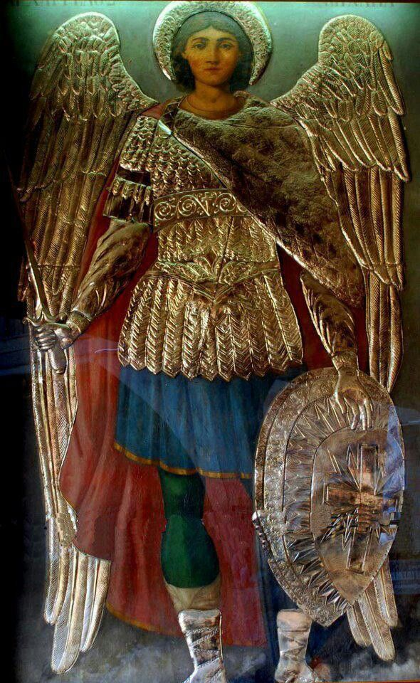 фото видение архангела михаила конечно фанат