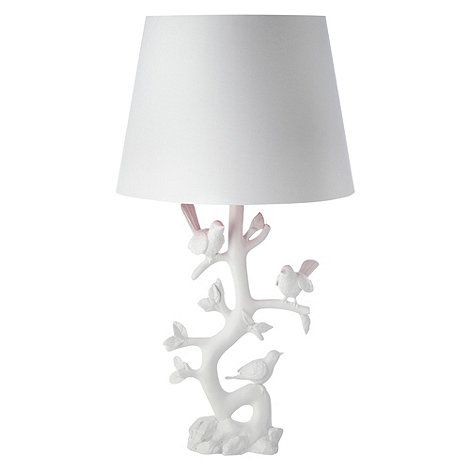 Butterfly home by matthew williamson white bird and branch table butterfly home by matthew williamson white bird and branch table lamp at debenhams aloadofball Choice Image