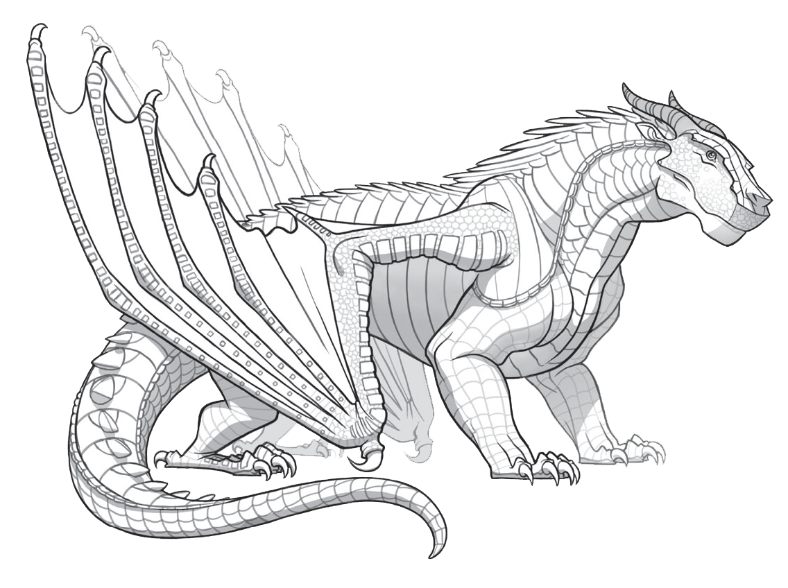 Pin By Caroline Gedney On Dragon Horse Coloring Pages Wings Of Fire Truck Coloring Pages
