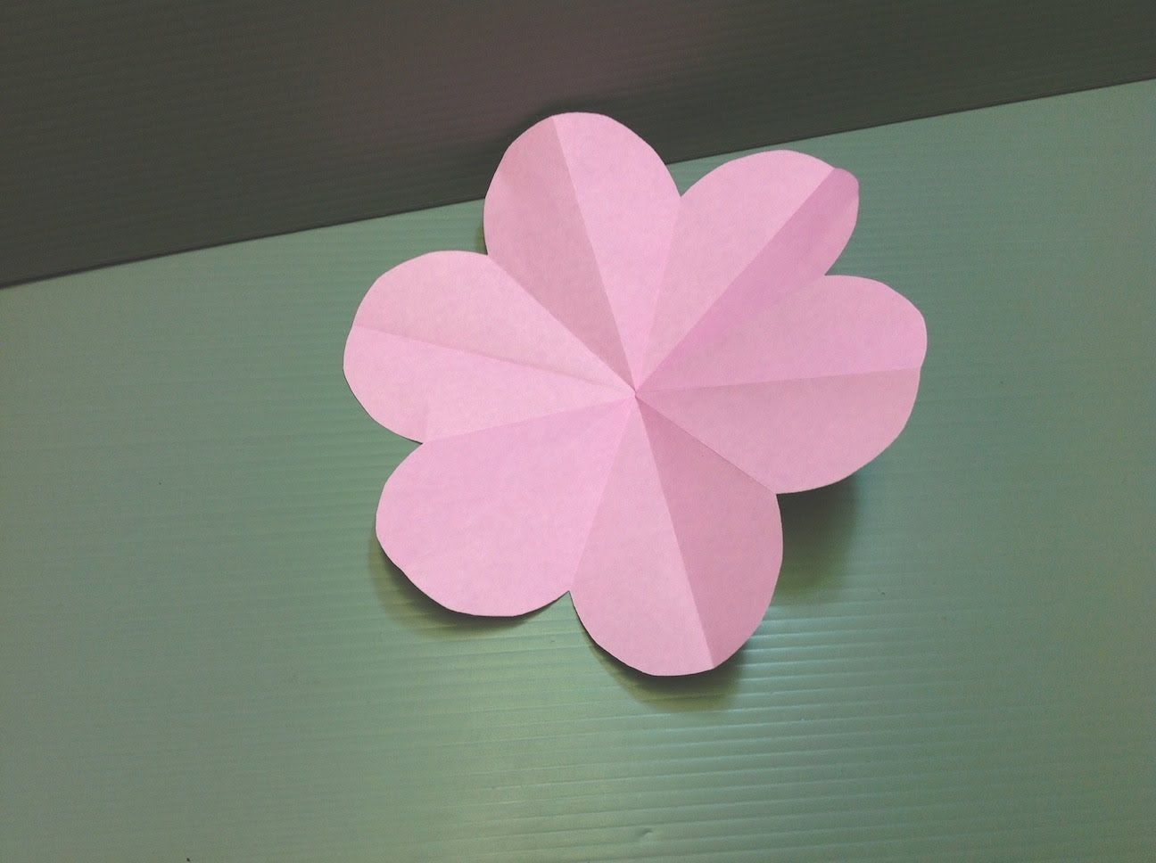 Origami Peach Blossom Flower Easy Kirigami Flowers Pinterest