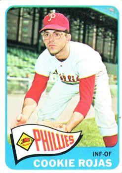 474 Cookie Rojas Philadelphia Phillies Baseball