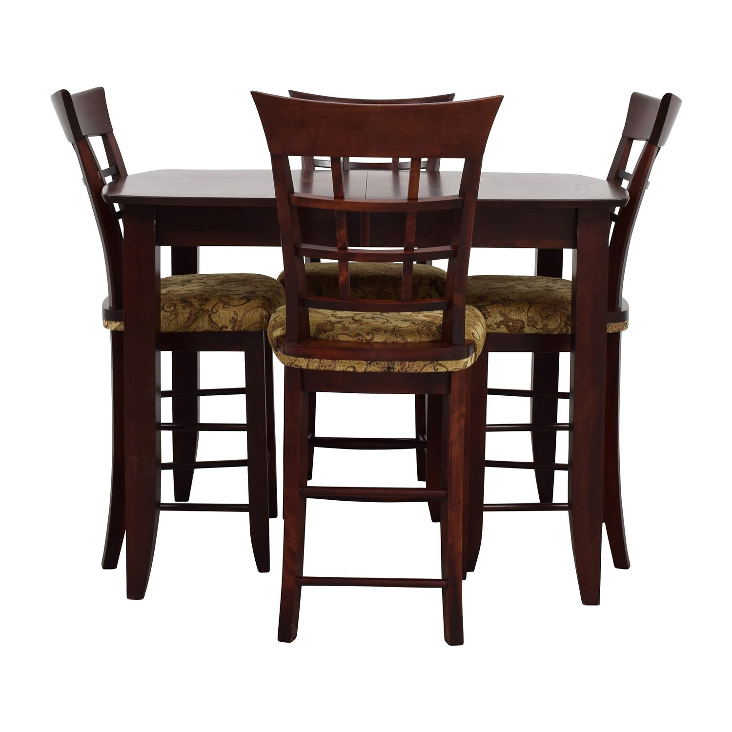 High Top Dining Table With Four Chairs Discount Mzfiqer High