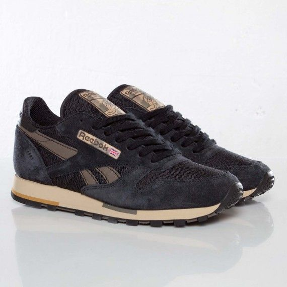 Reebok Classic Leather Utility - Black / Brown |