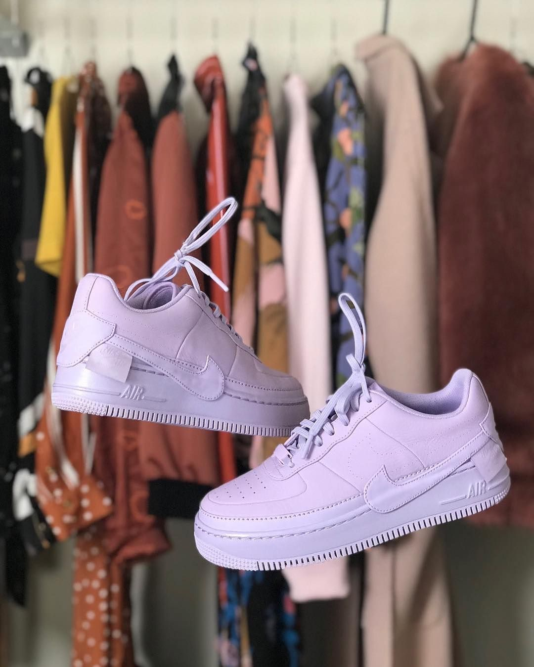 huge selection of 7c194 3152d Nike Air Force 1 Low Jester XX Violet Mist AO1220-500
