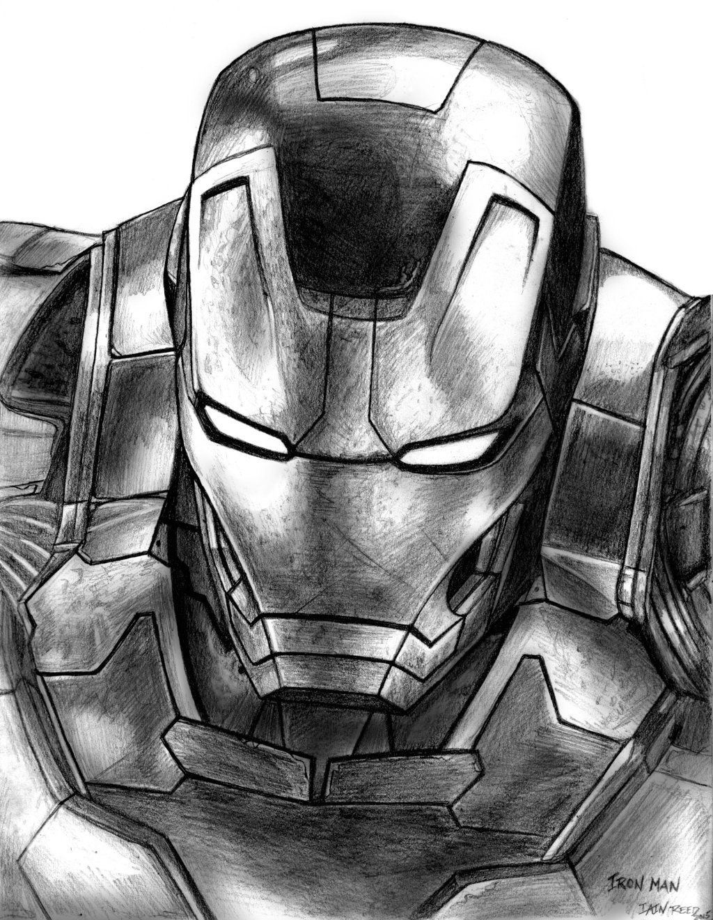 Iron Man Avengers Age Of Ultron By Soulstryder210 Dibujos