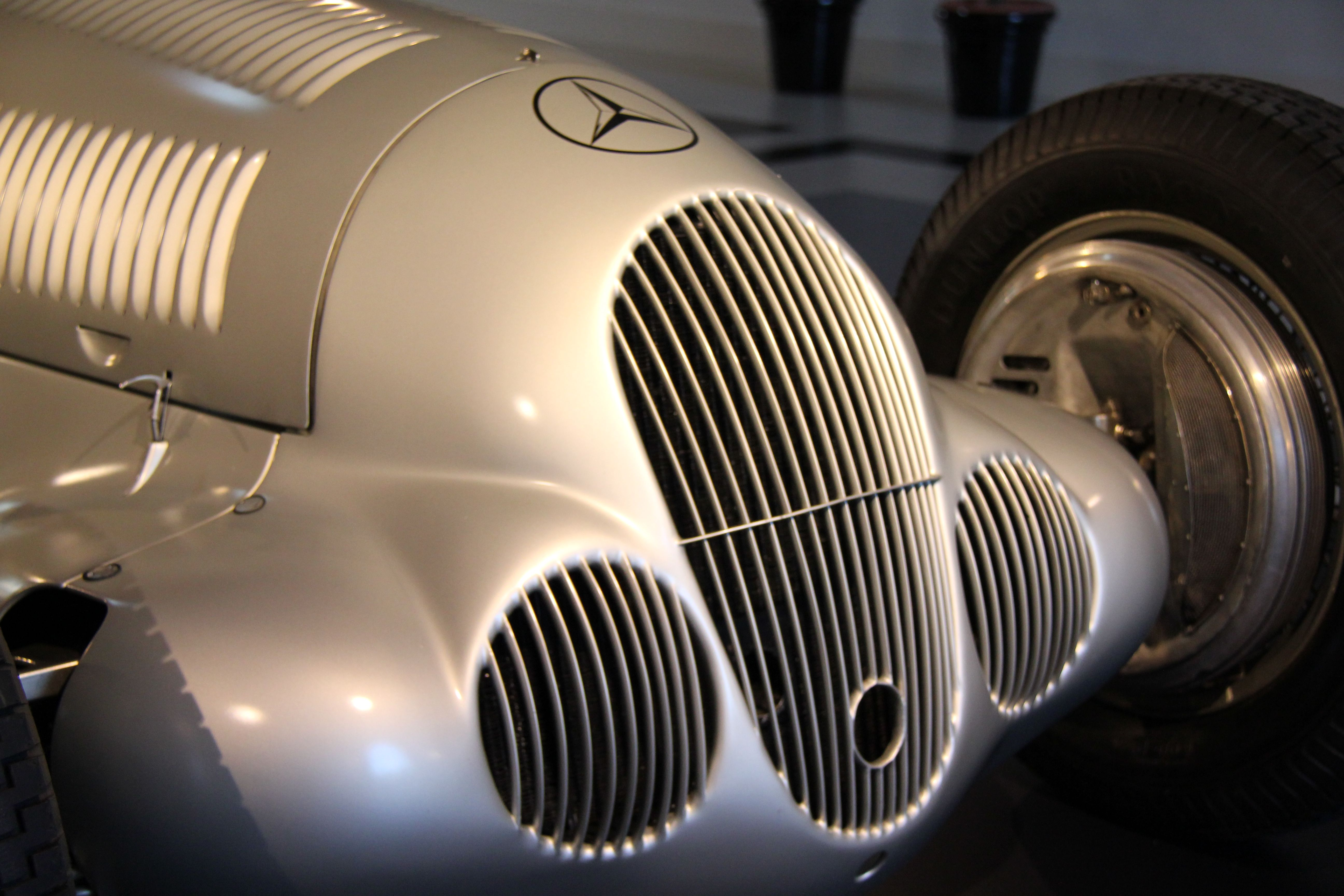 Silver Arrows exhibition at the Louwman Museum in the