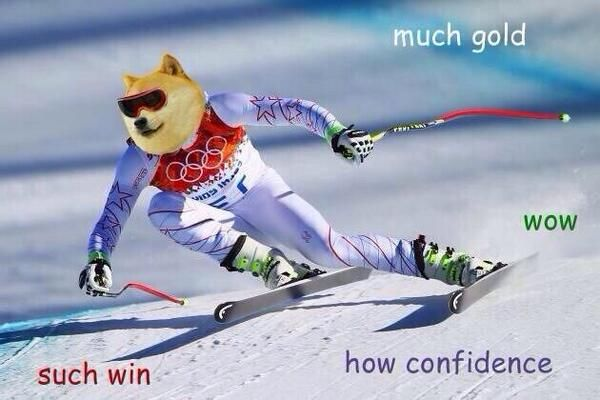 Wow Such Sochi Much Gold So Win Wow The Funny Funny Memes