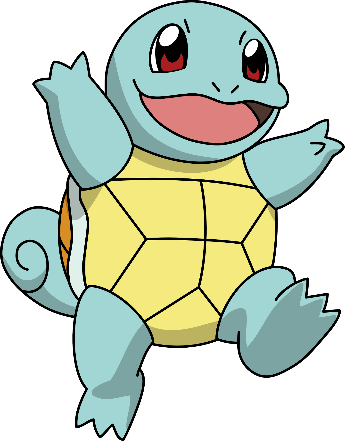 Squirtle from pokemon
