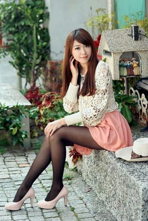 Tight portrait teen asian girl big smile stock photograph