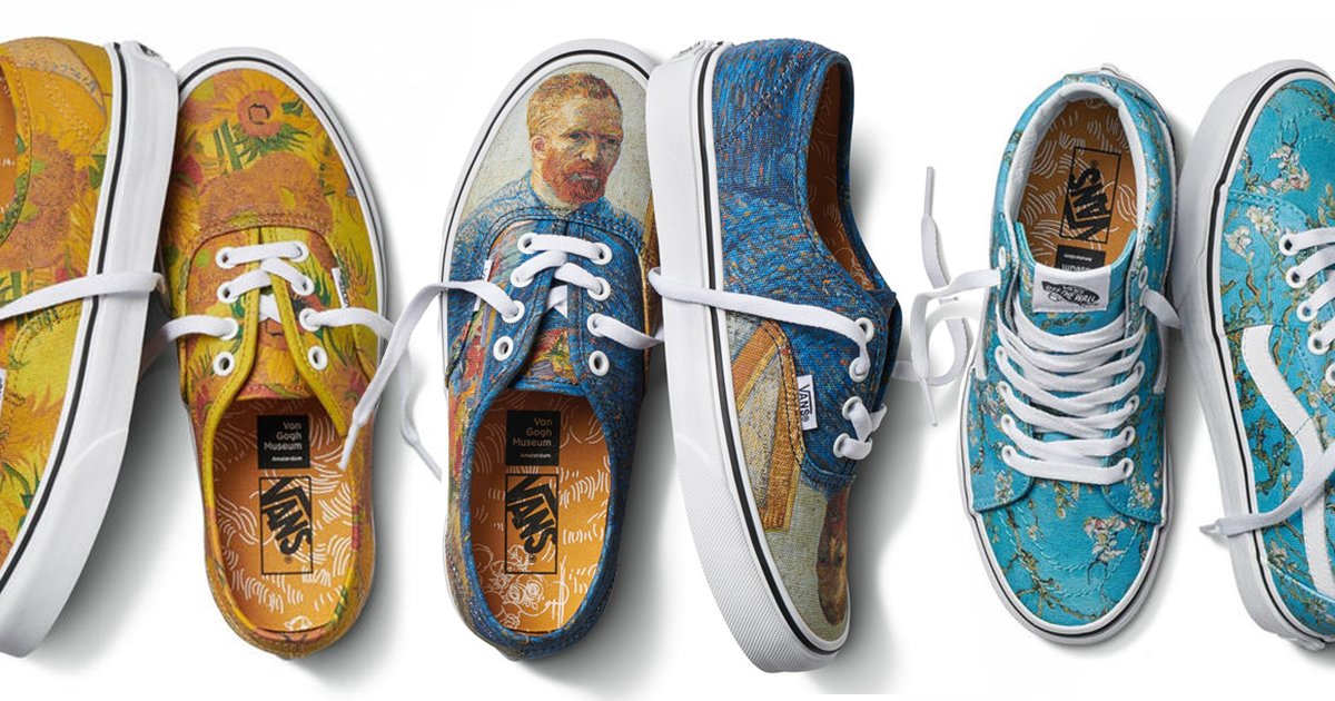 26118860ba4887 Vans Partners With The Van Gogh Museum To Create New Clothing Line ...