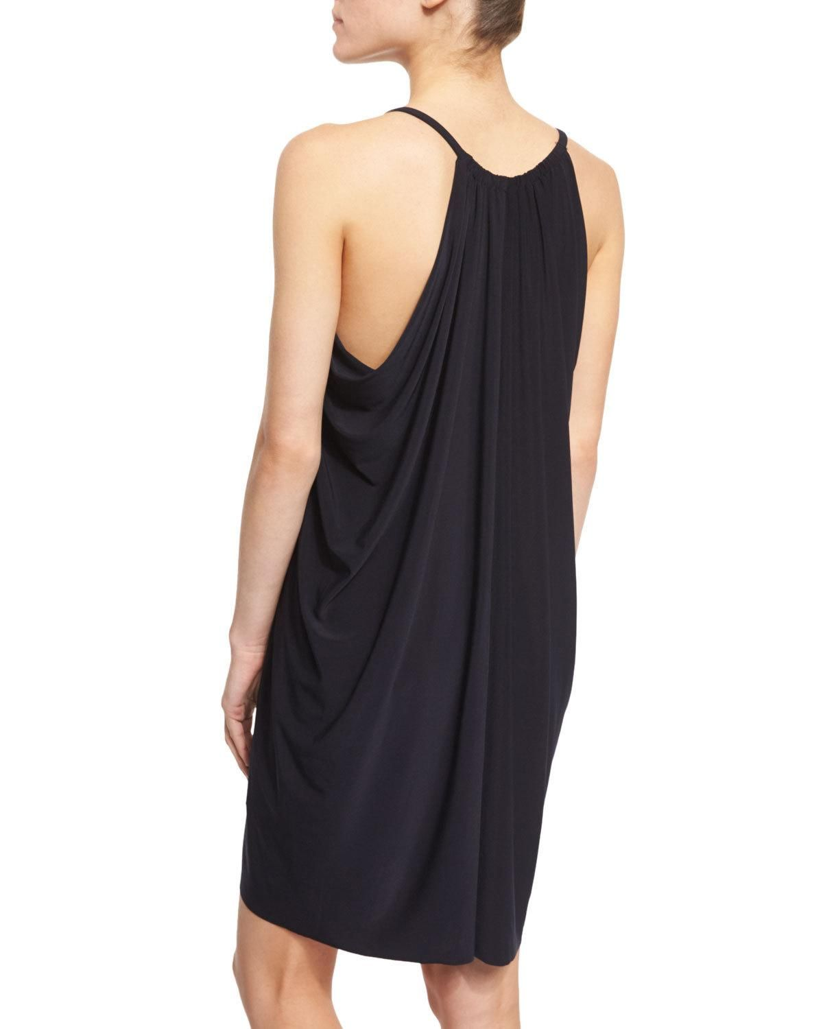 fadb6e259c Magicsuit Draped-Front Sleeveless Coverup Dress | Products | Dresses ...