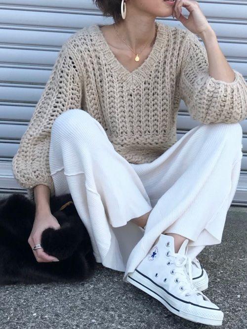 niko and...のニット・セーター「ボウバリニットPO」を使ったKumika☆のコーディネートです。WEARはモデル・俳優・ショップスタッフなどの着こなしをチェックできるファッションコーディネートサイトです。