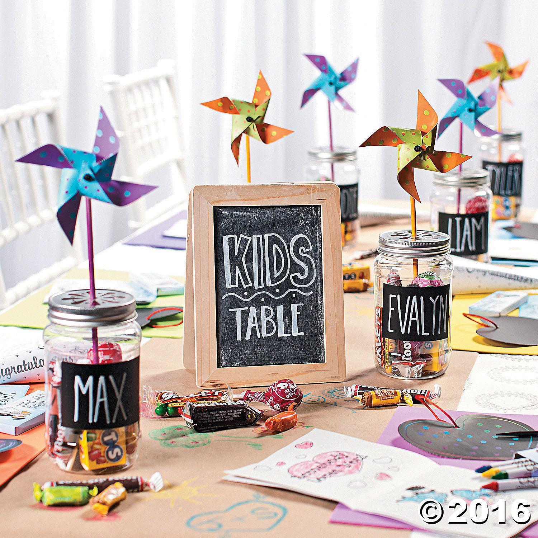 Wedding Ideas For Kids: Table Decor: CHILDREN In 2019