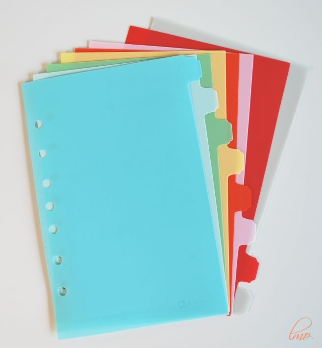Look For Martha Dividers And Use A Label Maker To Name Them Or Make My Own With Thick Cardstock Sticky Tab