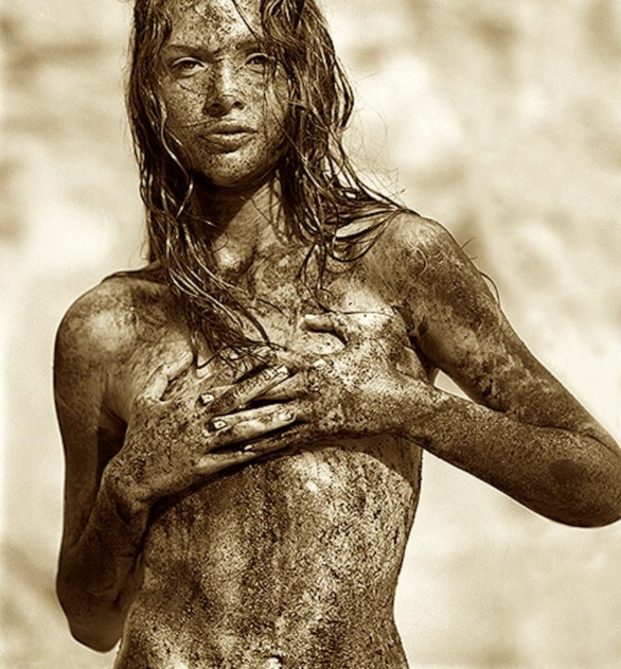 Girls naked covered in mud, morning naked exercise galleries