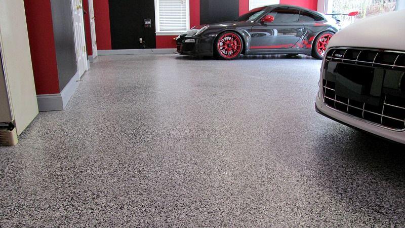 Rock Epoxy Garage Flooring Kit