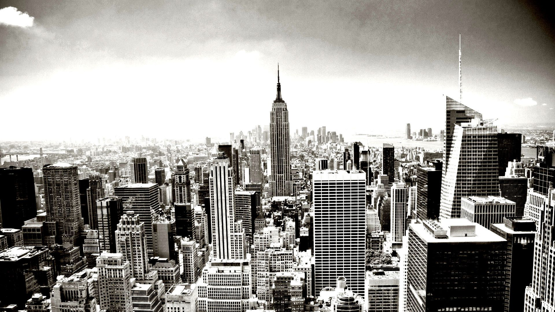 Free coloring page «coloring-new-york-empire-state-building». Aerial ...