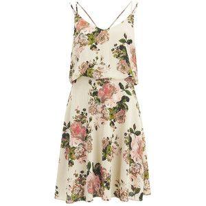 VILA Women s Flourish Spring Strap Dress - Pristine Steve Madden e524ea5458
