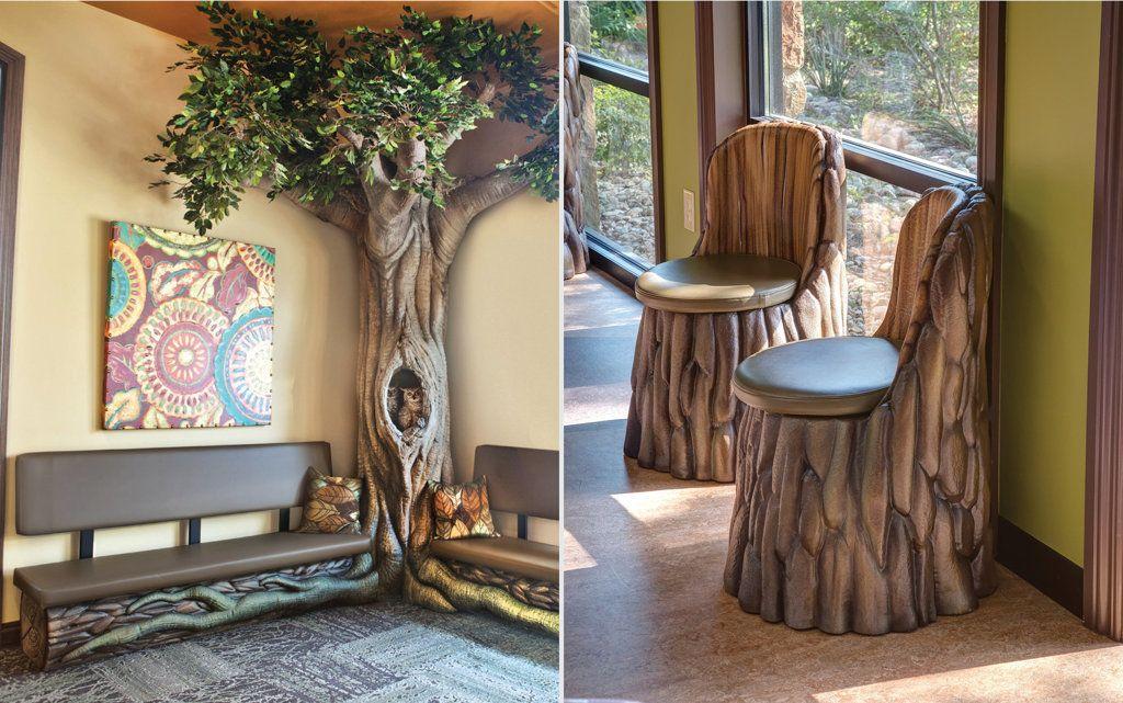 Themed Living Room