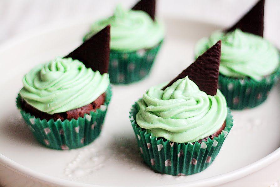 Minttusuklaa-cupcakes