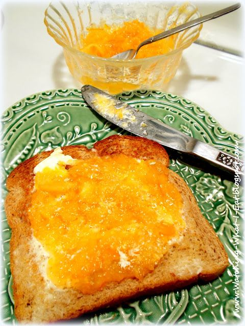 marmalade mixed with orange juice pulp easy way to fiber up
