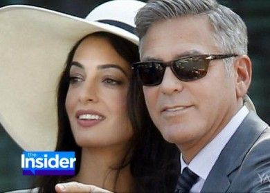 George Clooney and Amal Alamuddin's Fashionable Wedding