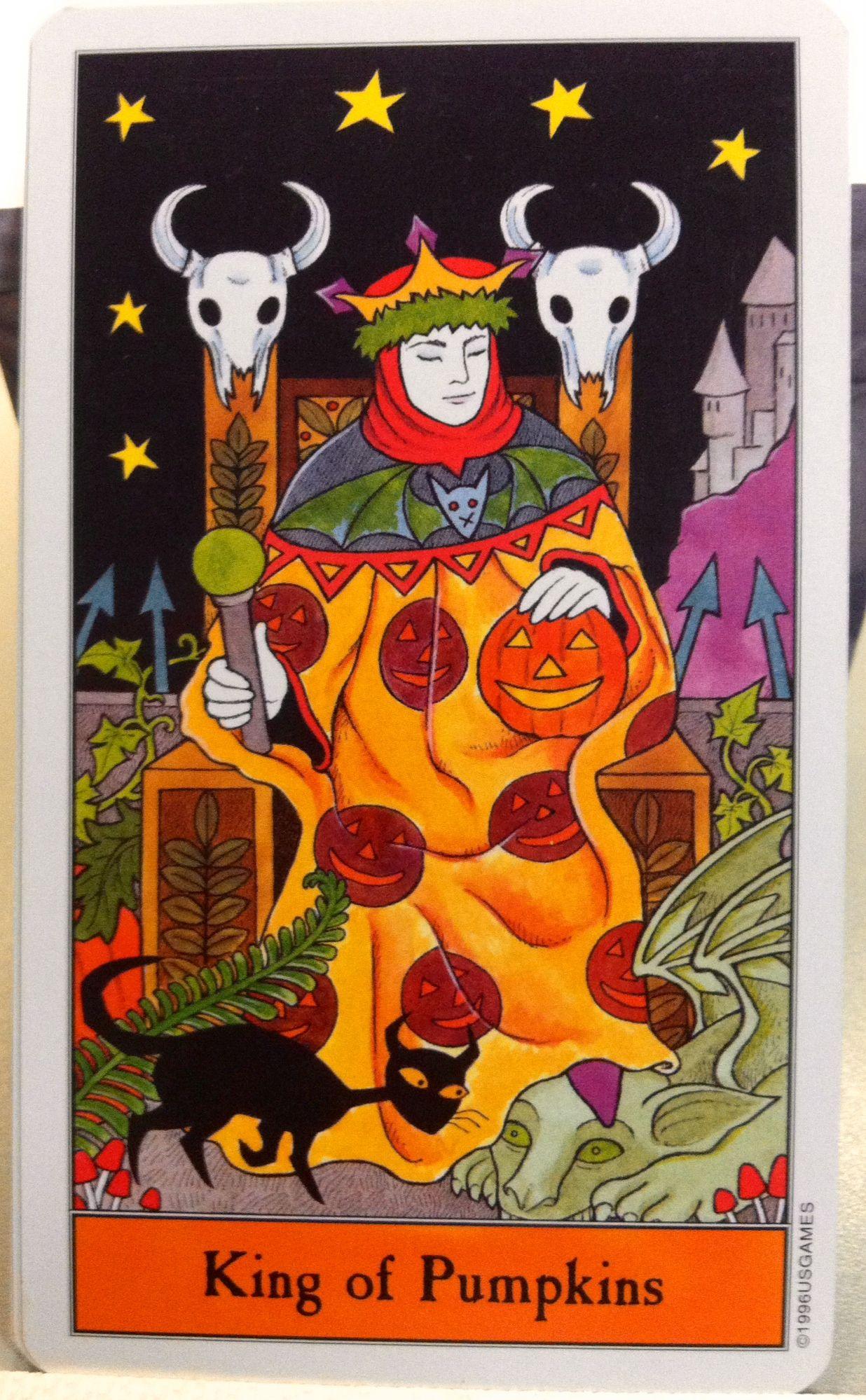 Halloween Tarot Cards If you love Tarot, visit me at www
