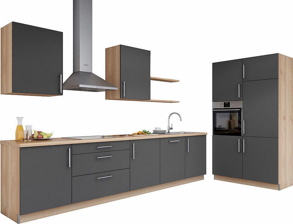 set one by Musterring Küchenzeile »Navaro« ohne E-Geräte, Breite - küchenblock ohne e geräte