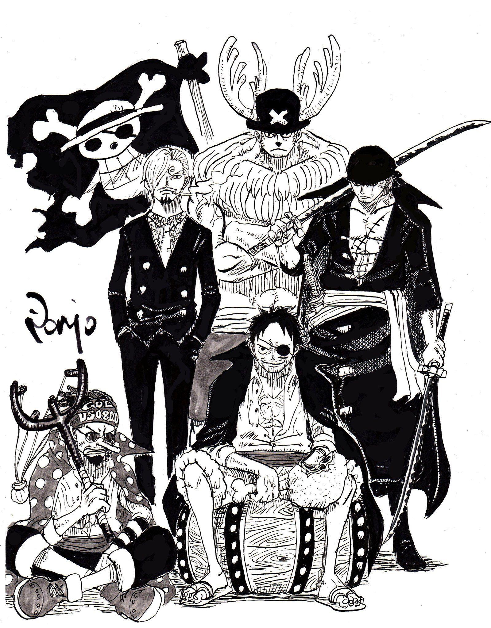 One Piece: Băng Mũ Rơm khi già đi trông sẽ như thế nào, câu trả lời tham khảo đã có rồi đây - Ảnh 3.