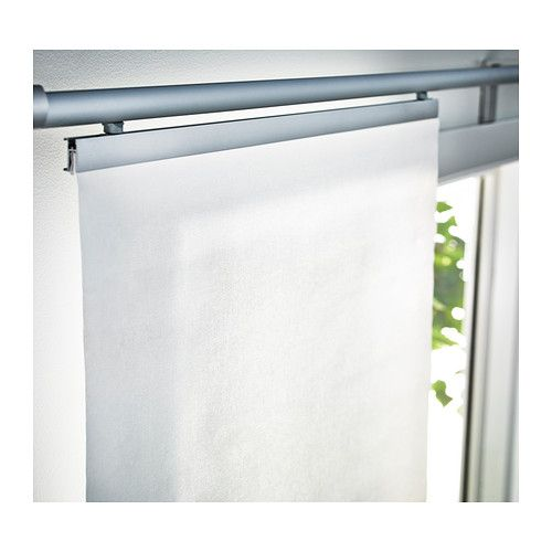 anno tupplur panel curtain white panel curtains. Black Bedroom Furniture Sets. Home Design Ideas