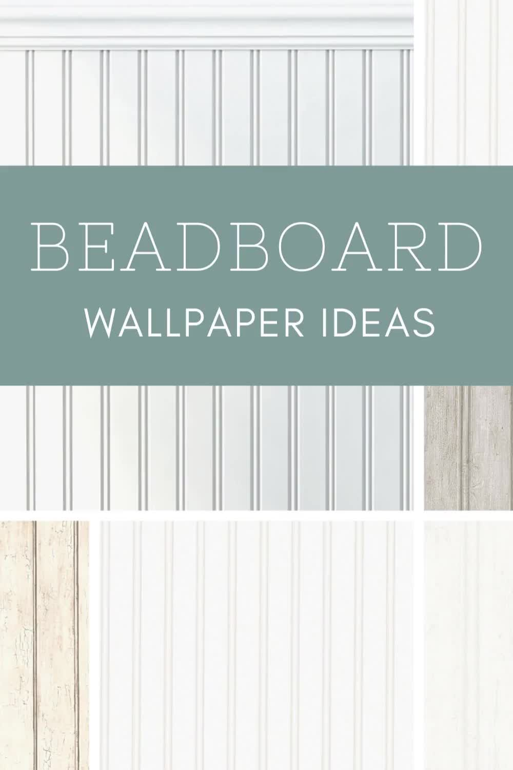 9 Cheap Easy Beadboard Wallpaper Recommendations Video Video Beadboard Wallpaper Beadboard Wallpaper Ceiling