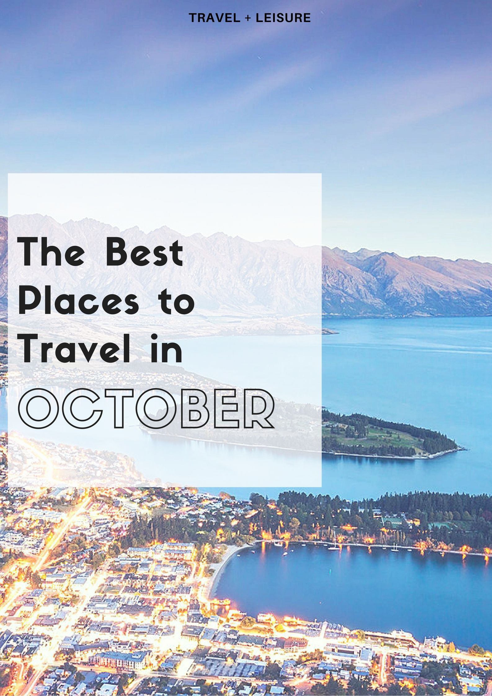 The Best Places to Travel in October Video  Best places
