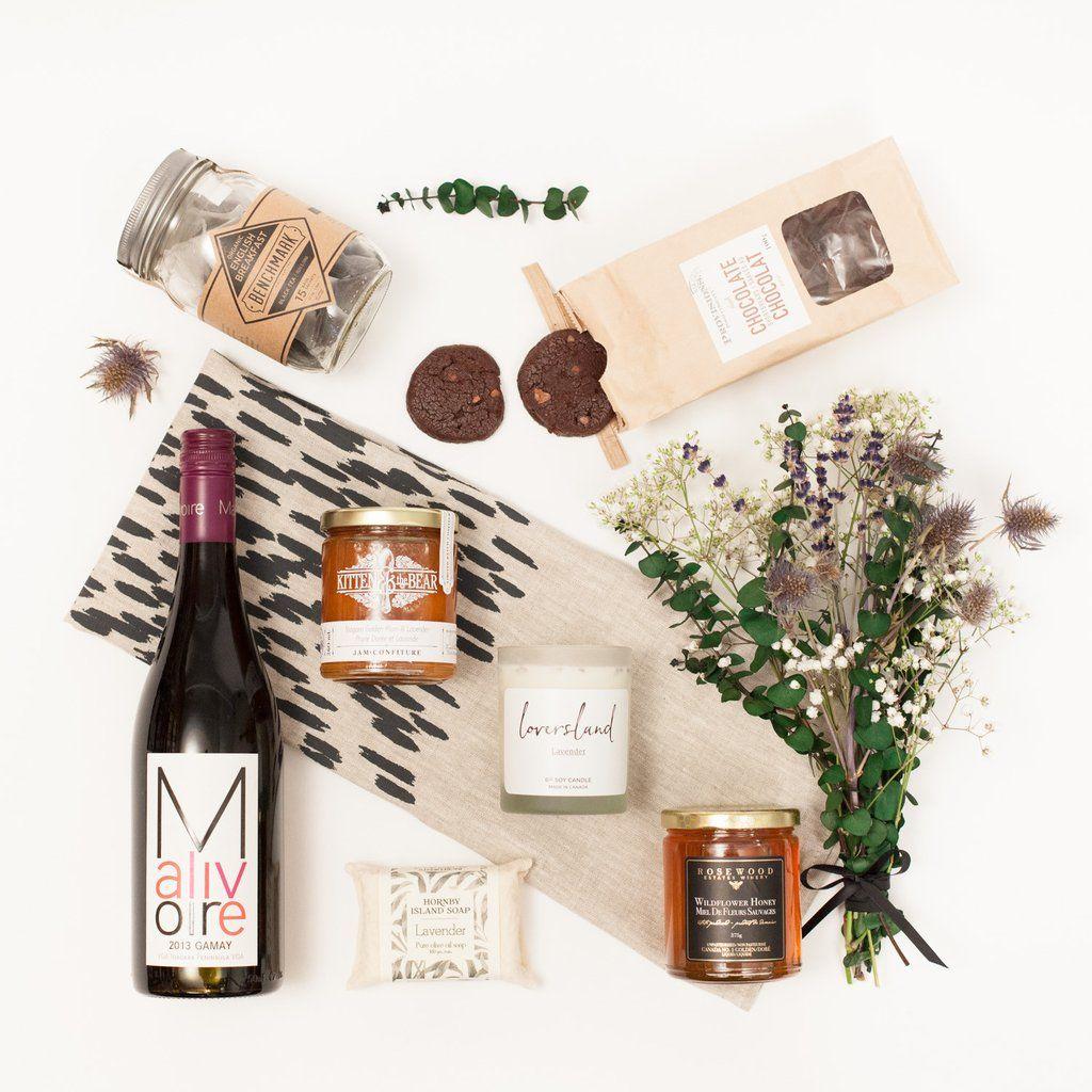 Toronto Gift Basket with local, artisan food