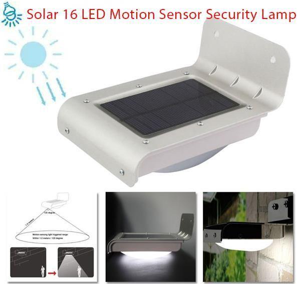 Lampu Solar Keselamatan Sensor Pergerakan Whtsap 0192095404 Sensor Solar Motion Sensor