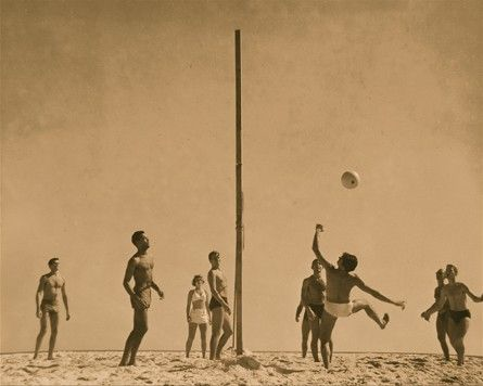 Beach Volley Volleyball History Fire Island Volleyball Pictures