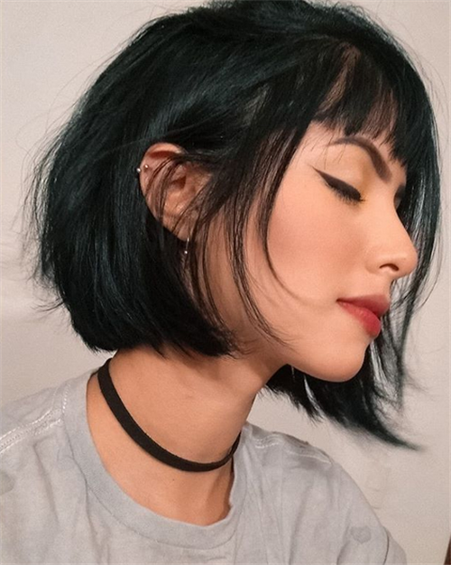 Perfect Bob Hairstyles Ideas in Fall