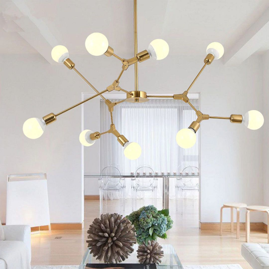 14 Beautiful Living Room Decoration Ideas With Stunning And Unique Hanging Lamp Hangingl Unique Hanging Lamp Pendant Lighting Dining Room Dining Room Pendant