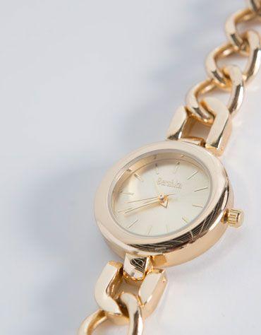 Bershka México - Reloj metal