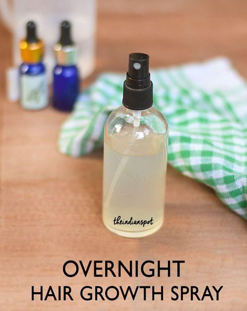 Homemade Overnight Hair Growth Spray