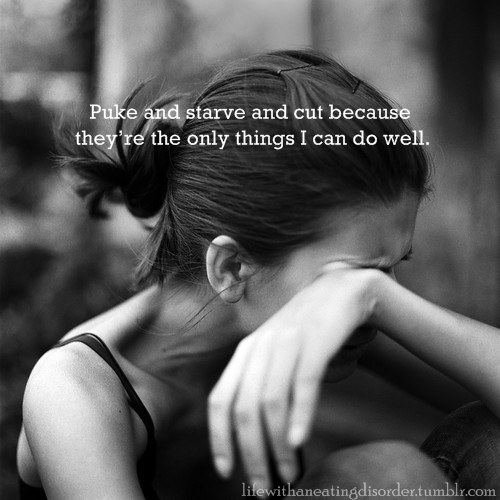 This is why #thinspiration is painful. Stop #thinspo. Seek someone who can help. #antithinspo