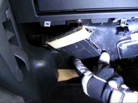 Cabin Air Filter Replacement Chrysler Crossfire Cabin Air Filter