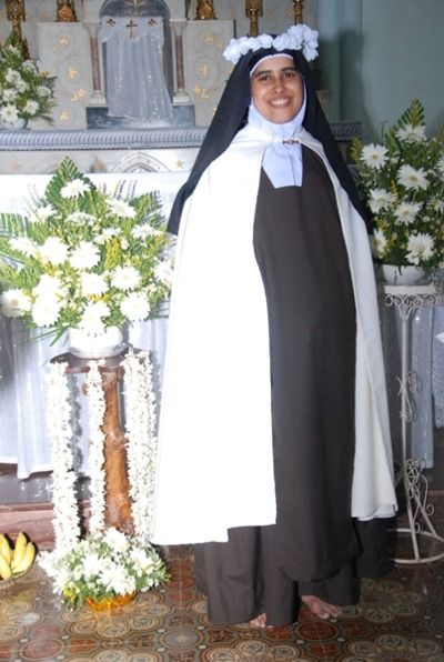 sermoveritas: Sr  Elizabeth of the Trinity, OCD, from India